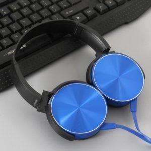 Bass Stereo Headphone Original Extra Headset Earphones Internet Cafe Game Mobile Music Headphones