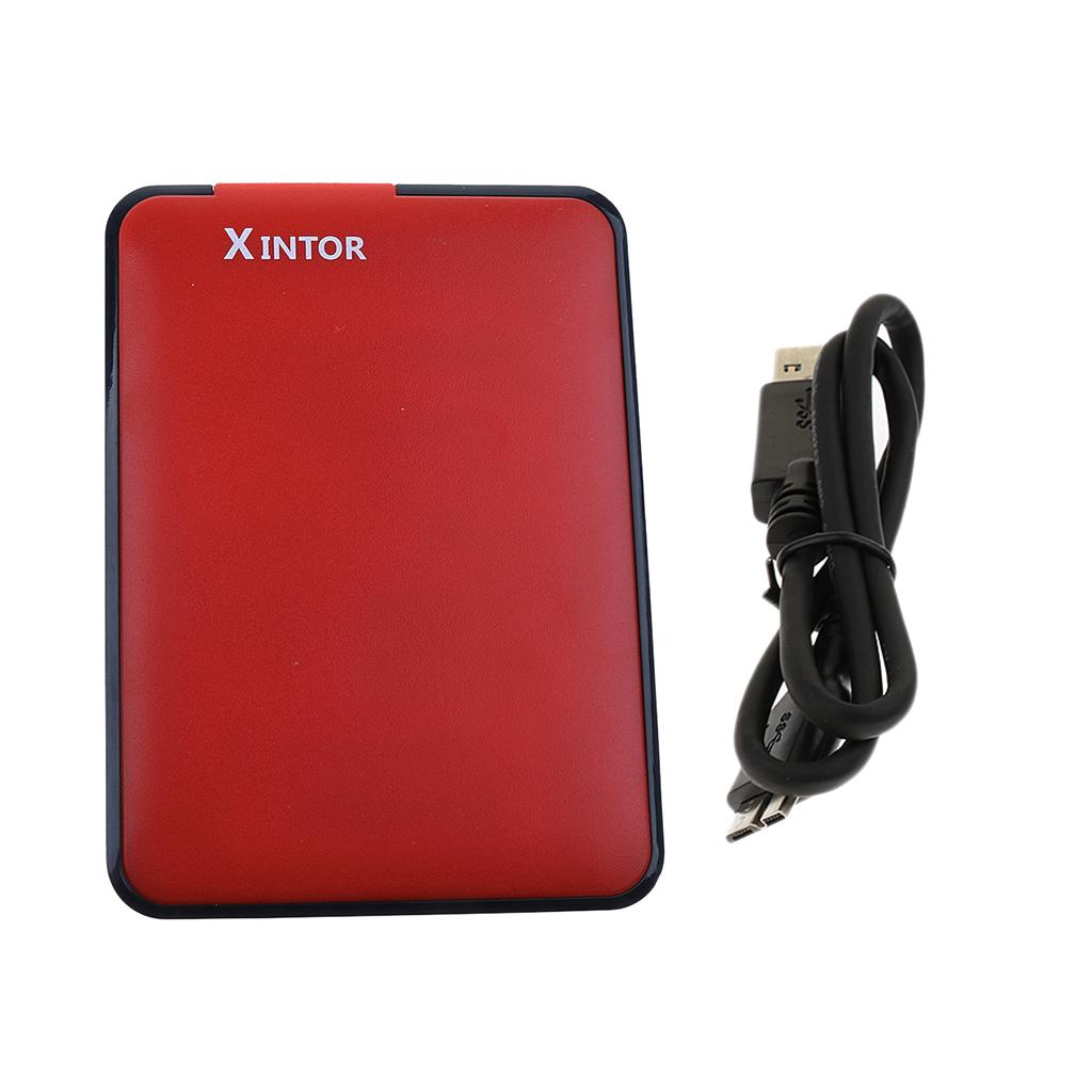 2.5 Inch 750GB USB 3.0 Mobile Disk External Hard Drive for PC Computer Red