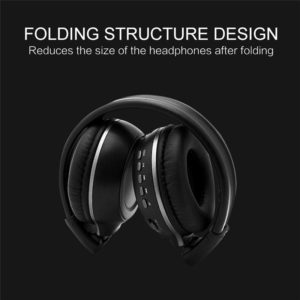 Upgraded B570 Head-Mounted Wireless Hi-Fi Stereo Bluetooth Headset Foldable Bluetooth 4.0