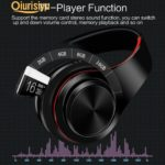 HIFI Stereo Bluetooth Earphones Headphone Music FM SD Card Headset Charm Gift