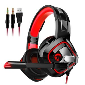 PS4 Gaming Headphones Stereo Headset with Mic/Breathing LED for Xbox One PC Notebook Laptop Gamer