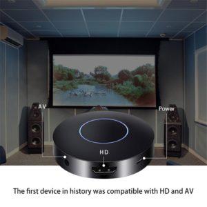 Black HDMI AV Output Wireless WIFI Diplay Dongle