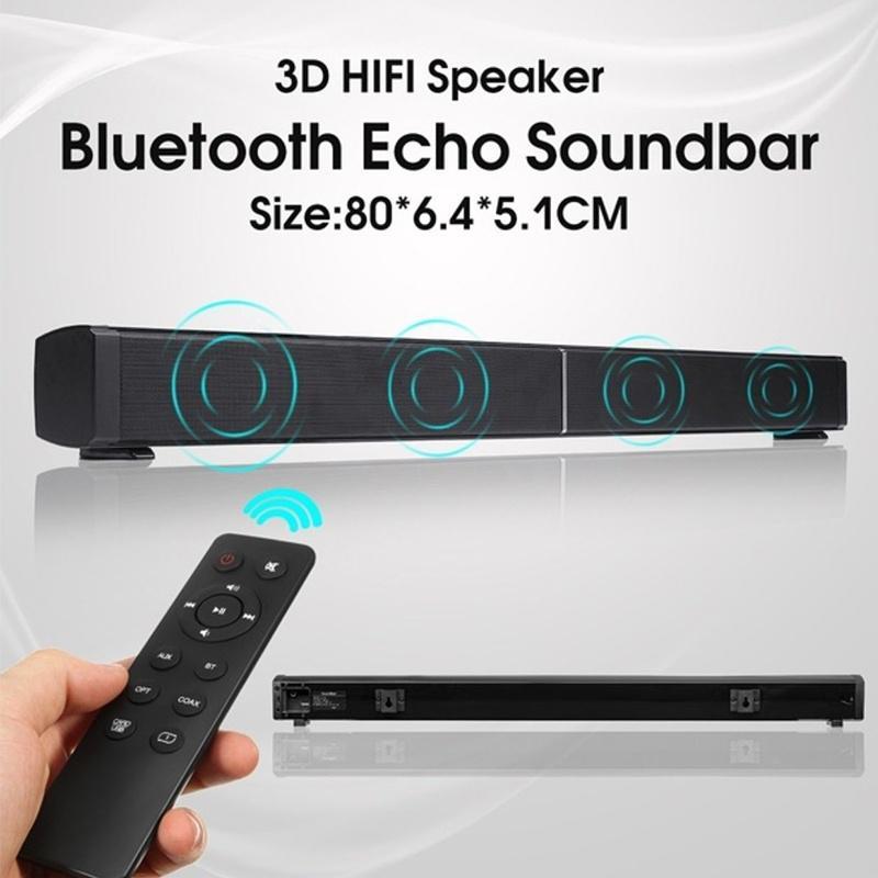 Soundbar Bluetooth Speakers Bass Stereo