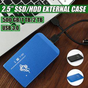 """Portable 2.5"""" External Hard Drive Mechanical Hard Drive Lightweight SATA III Mobile HHD 500G 1T 2T Super Speed"""